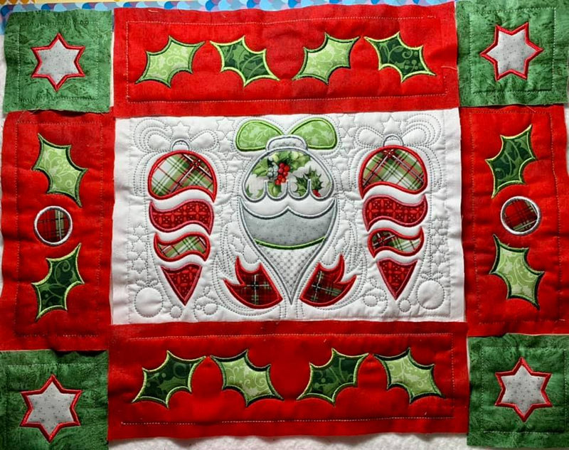 BOW Christmas Wonder Mystery Quilt Block 6