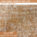 Perfect Pro™ Lite Cork - Floral Doodle 0.4mm