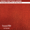 Perfect Pro™ Faux Leather - GLITTER RED 0.7mm