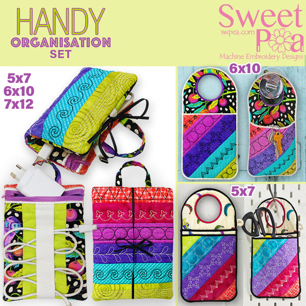 Handy Phone Charger Organizer & Handy Hanging Organizer Set