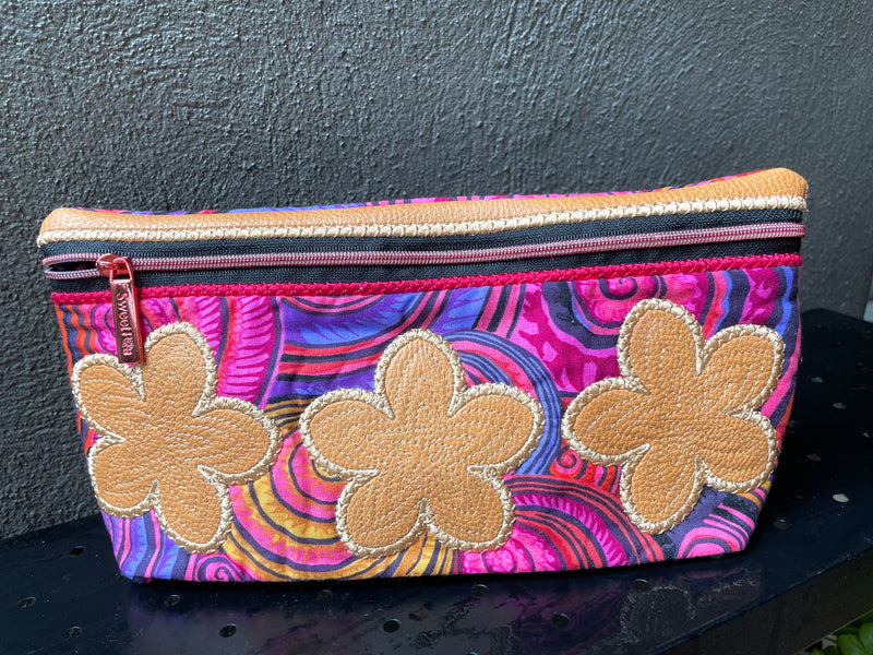 Flower Cosmetic Bag 5x7 6x10