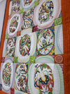 Bulk BOM Crewel quilt blocks 1 to 12 and Borders and Sashing - Sweet Pea Machine Embroidery