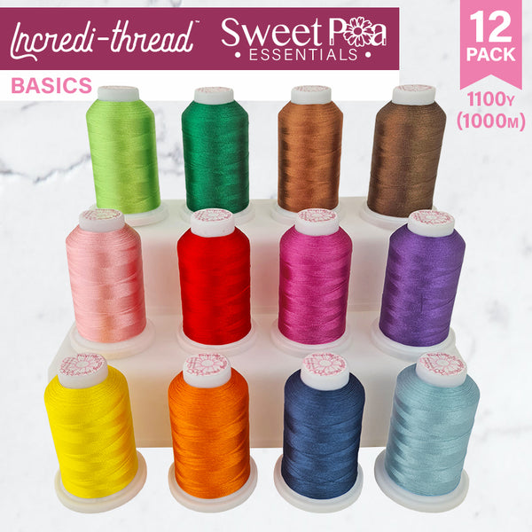 Incredi-thread™ 1000M/1100YDS 12 Pack - Basic