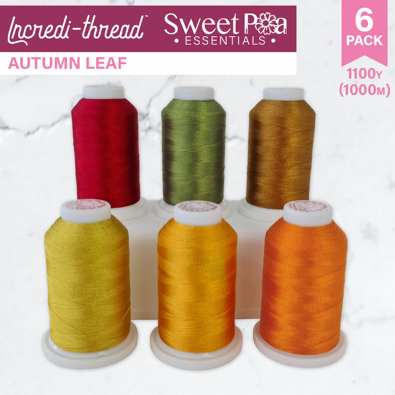 Incredi-thread™ 1000M/1100YDS 6 Pack - Autumn Leaf