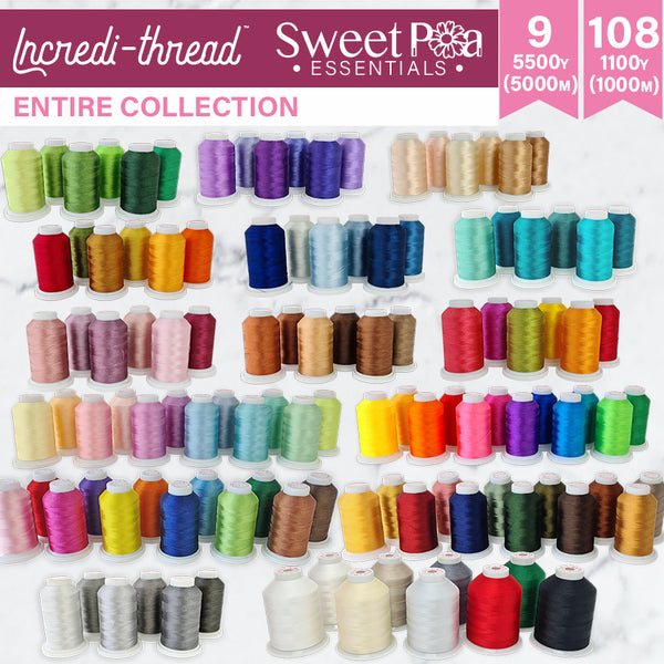 Sweet Pea Incredi-thread™ Entire Collection