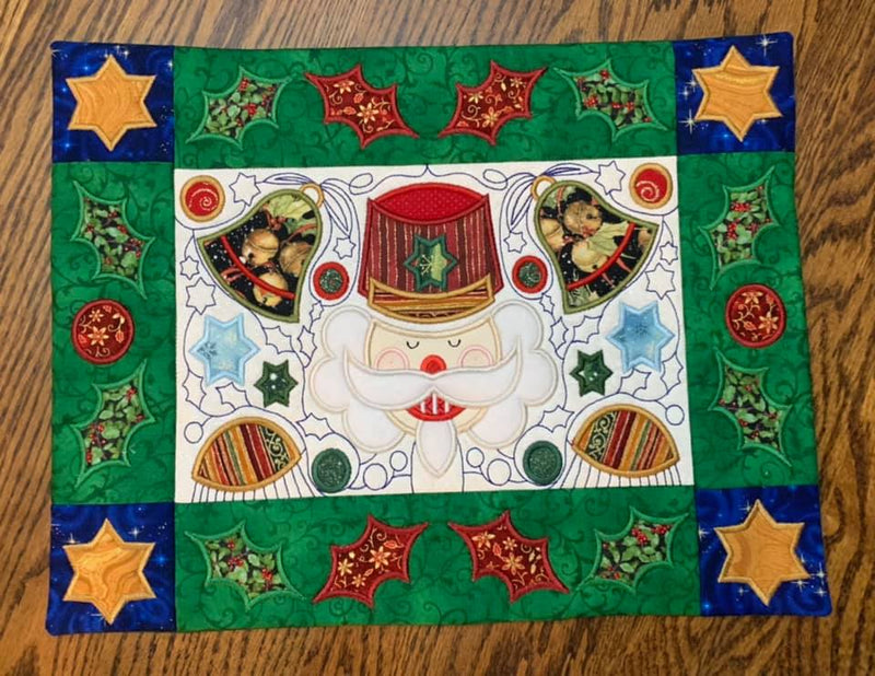 BOW Christmas Wonder Mystery Quilt Block 7
