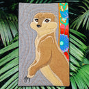 Meerkat Add-on Block or Mug Rug 5x7 6x10 7x12