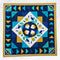 Pretty Prairie Point Quilt 4x4 5x5 6x6 7x7 8x8