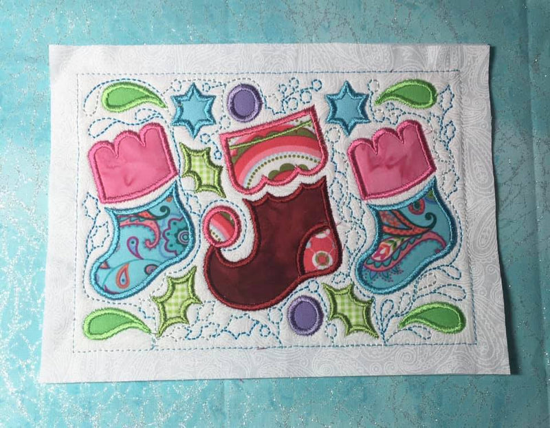 BOW Christmas Wonder Mystery Quilt Block 10