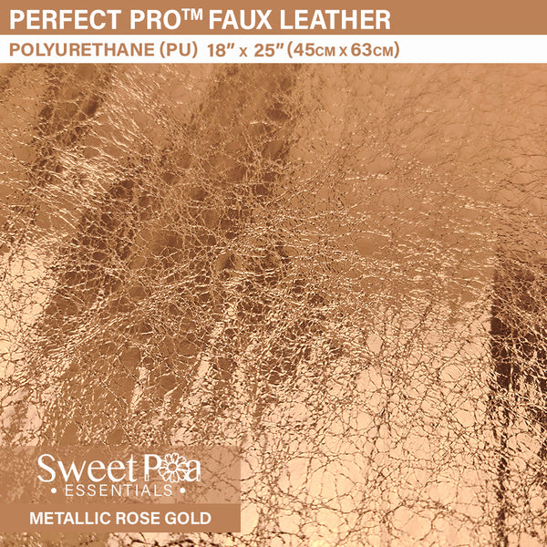 Perfect Pro™ Faux Leather - METALLIC ROSE GOLD 0.7mm