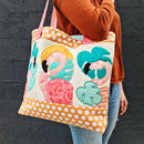 Tropical Flamingo Tote Bag 5x7 6x10 7x12
