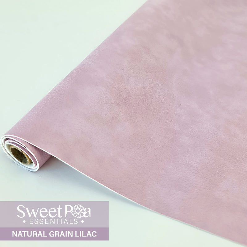 Perfect Pro™ Faux Leather - NATURAL GRAIN LILAC 1.0mm