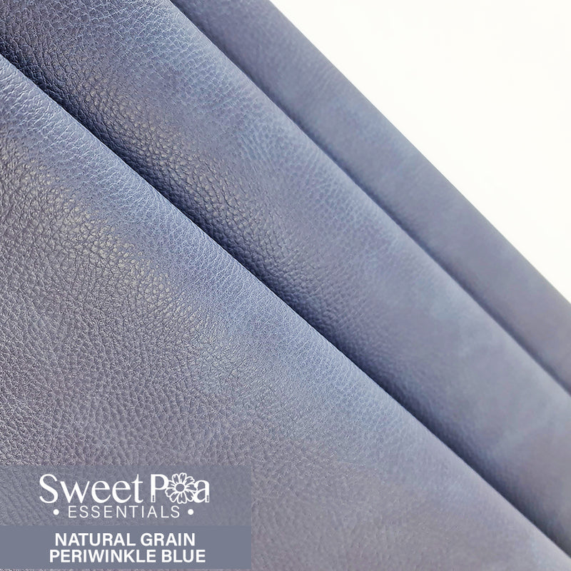 Perfect Pro™ Faux Leather - NATURAL GRAIN PERIWINKLE BLUE 1.0mm