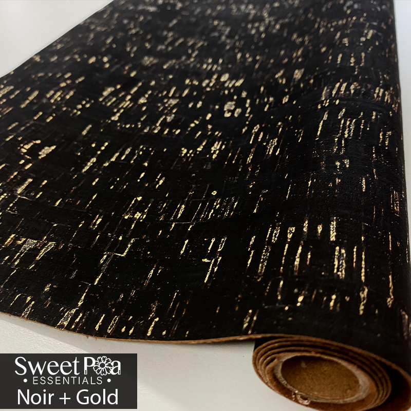 Perfect Pro™ Cork - Noir + Gold 0.8mm