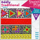 Oddly Traditional Quilt BOM Sew Along Quilt Block 2