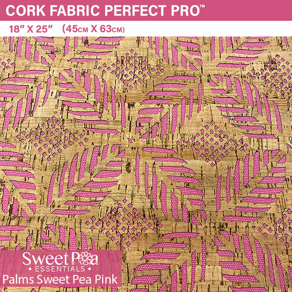 Perfect Pro™ Cork - Palms Sweet Pea Pink 1.0mm