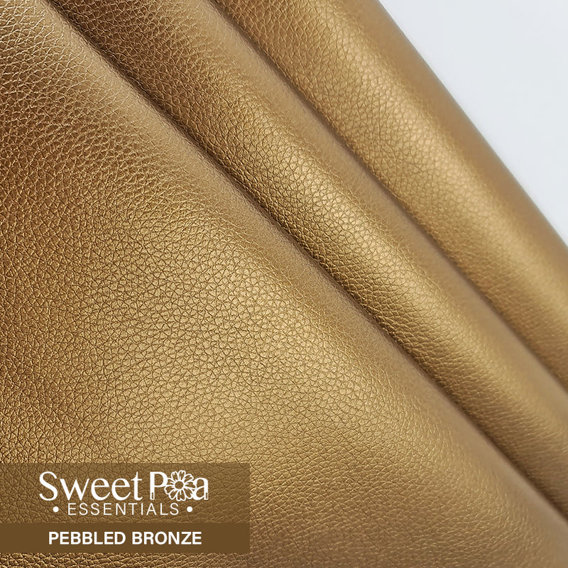 Perfect Pro™ Faux Leather - Pebbled Bronze 0.9mm
