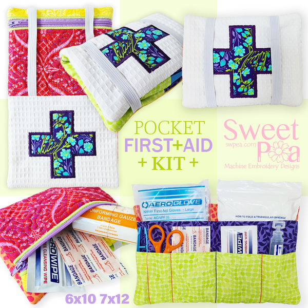Pocket First Aid Kit 6x10 7x12