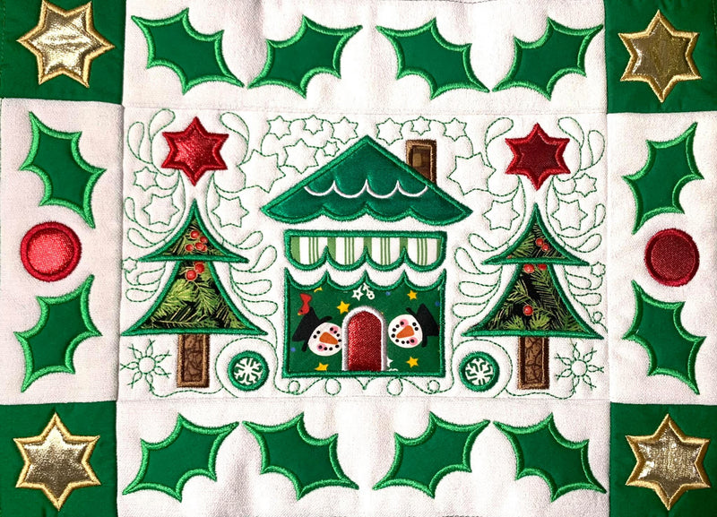 BOW Christmas Wonder Mystery Quilt Block 9