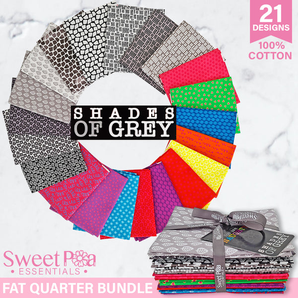 Fat Quarter Bundle - Shades of Grey