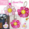 Sweet Pea Key FOB & Bag Charm Set 4x4 5x7 6x10