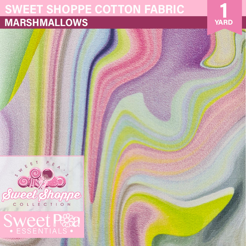 Sweet Shoppe - Yard on a Card - MARSHMALLOWS