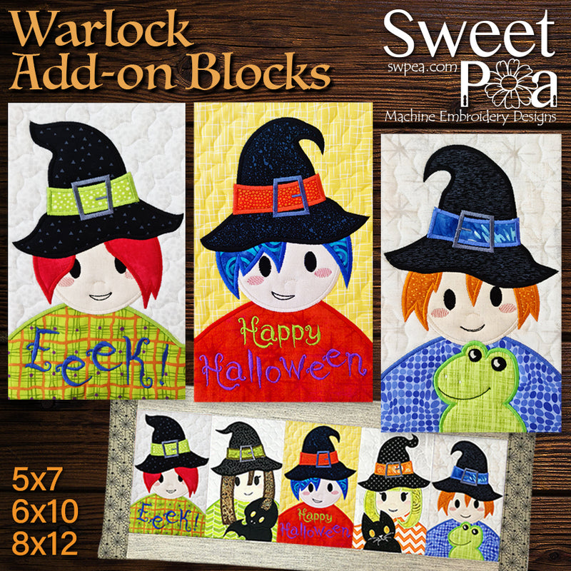 Warlock Add-on Blocks 5x7 6x10 8x12
