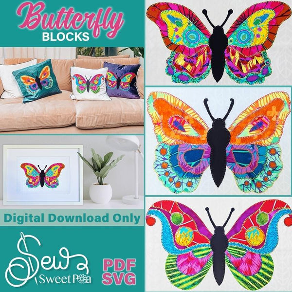 Butterfly Applique - Sew Sweet Pea