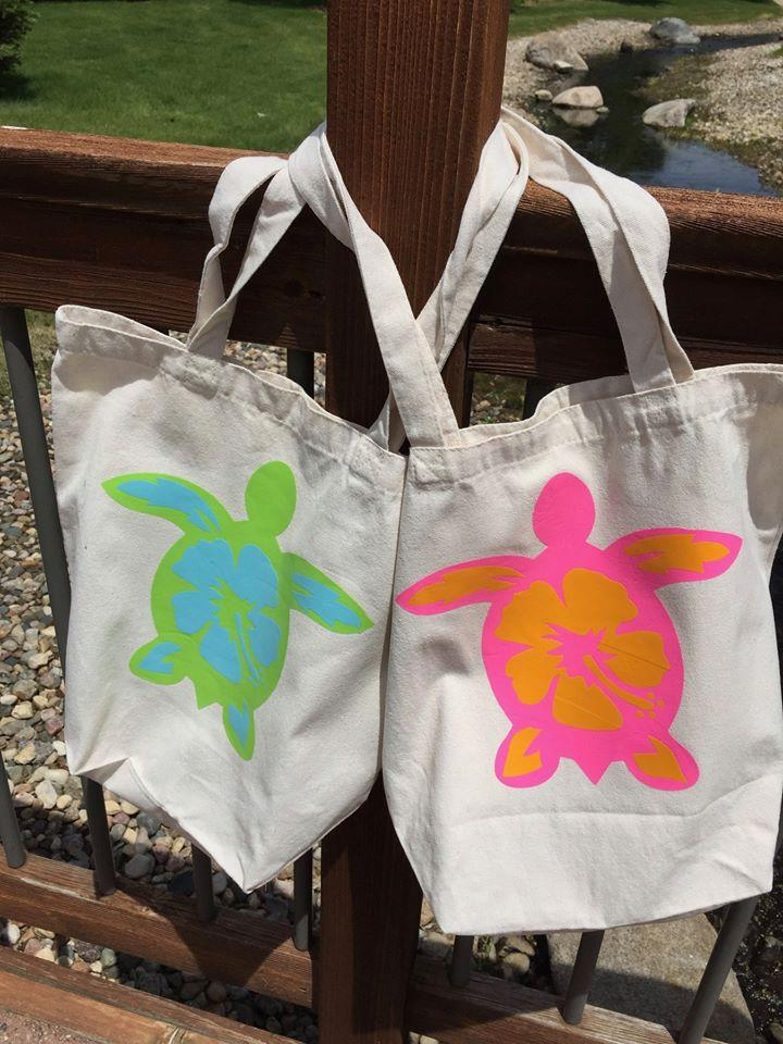 Turtle Reflections Applique and Handbag Pattern - Sew Sweet Pea