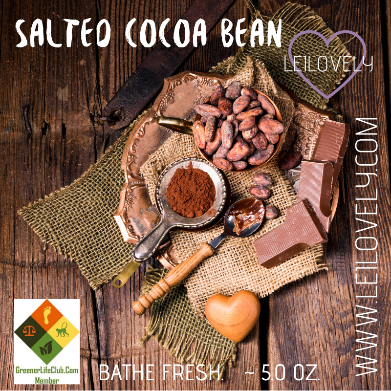 Salted Cocoa Bean Luxury Bar Soap