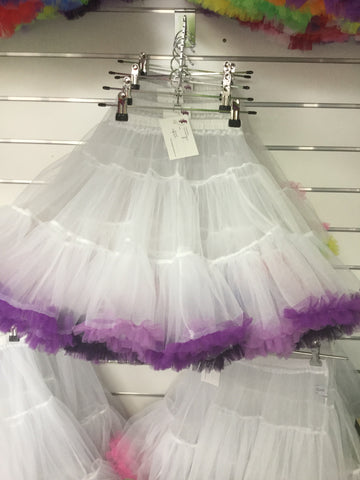 Child's Rainbow Petticoat