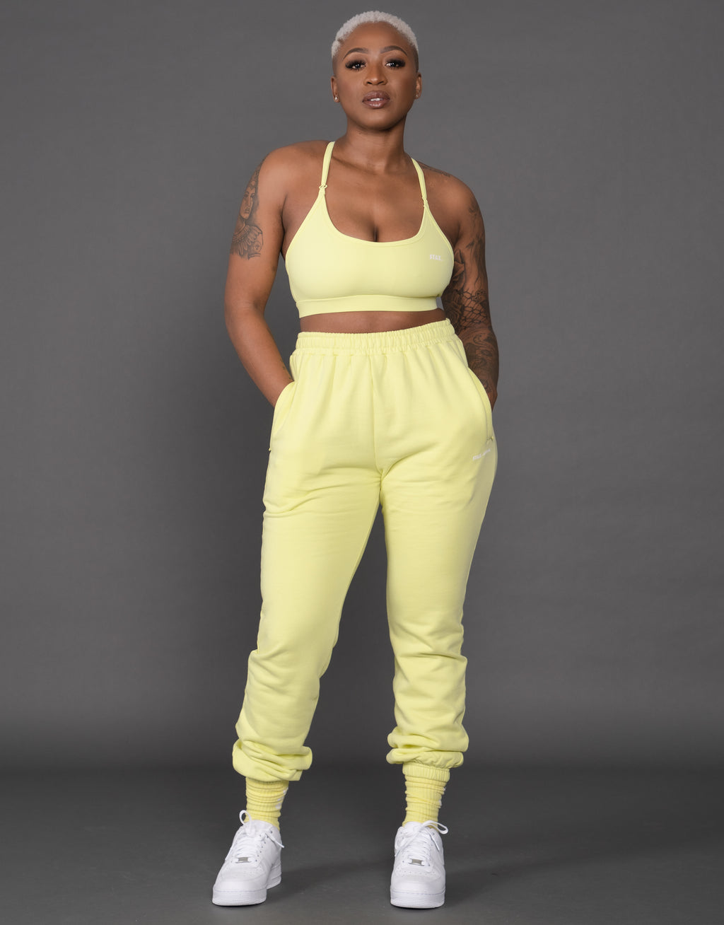 STAX.-Official - JOGGERS - LEMON
