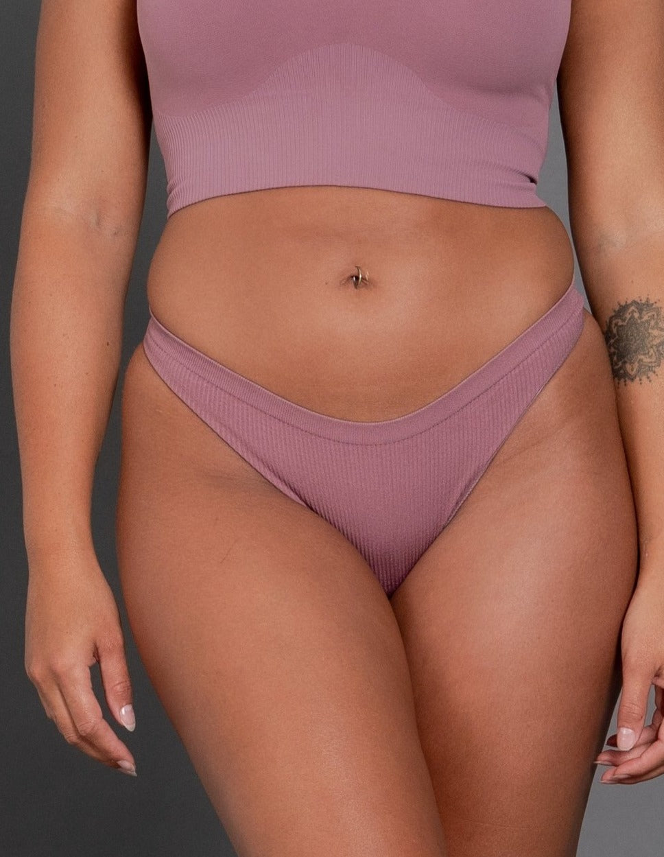 STAX. Premium Seamless Sports G-String - Rust