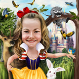 Disney Cartoon-Karikatur - Karikaturen-Online - 2