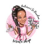 Toy Store Logo - custom portrait for your business logo / Kids Boutique Logo / Tutu Logo / Dollhouse Logo / Doll logo