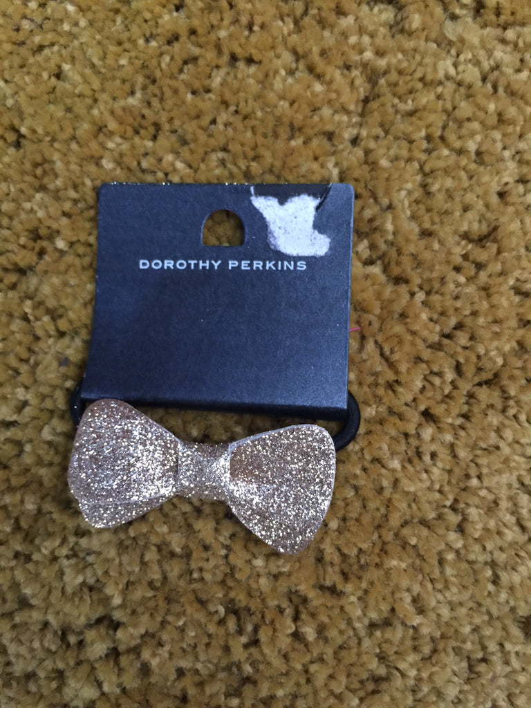 Mini Gold Bow with strip