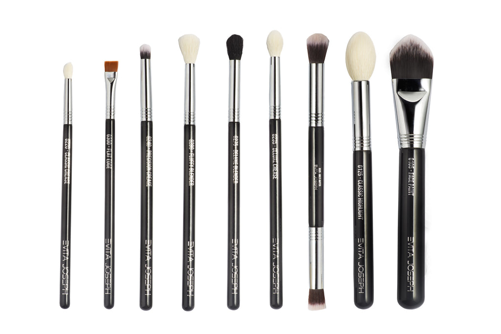 9 Pcs Salted Brush Collection