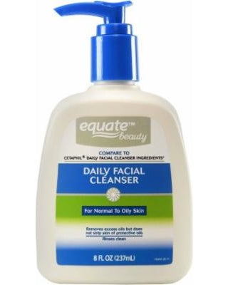 Equate Beauty Daily Facial Cleanser, 8 Oz