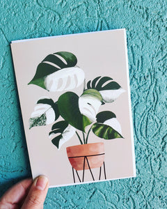 Plant Greeting Card