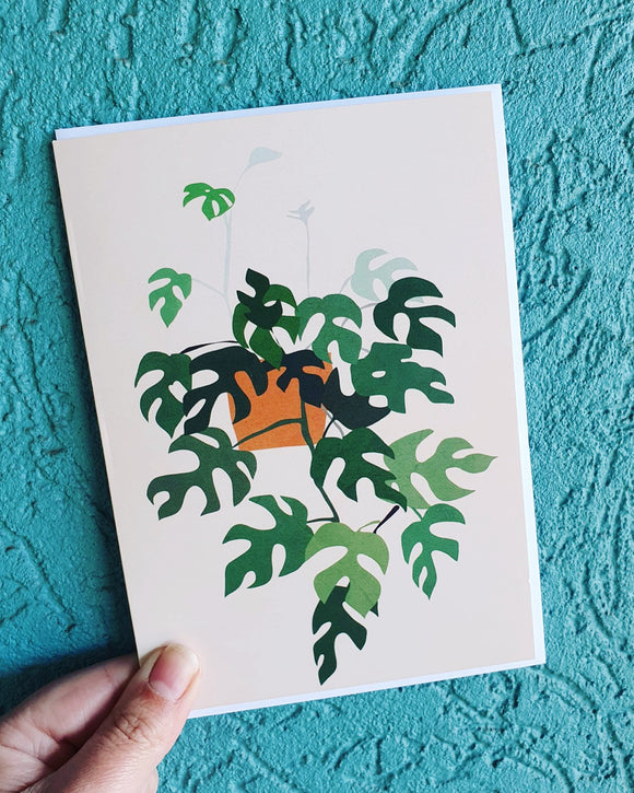 Hanging Plant Greeting Card