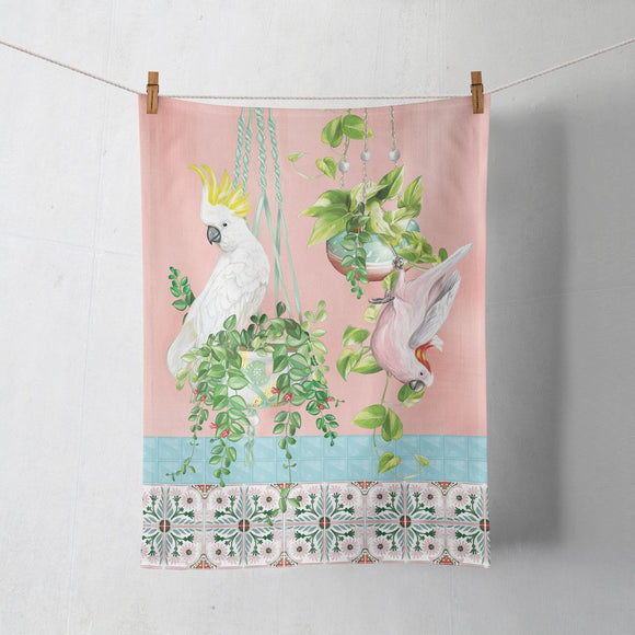 Lala Land Tea Towel Tropical Abode Vol. 2