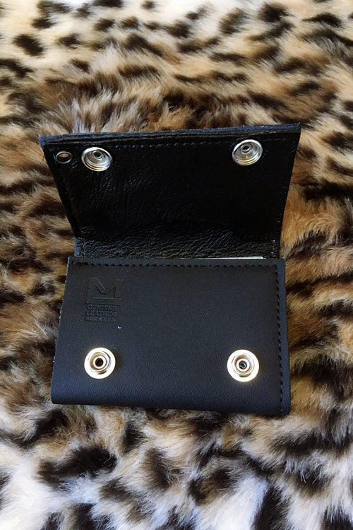 Scorpio Rising Chained Leather Wallet