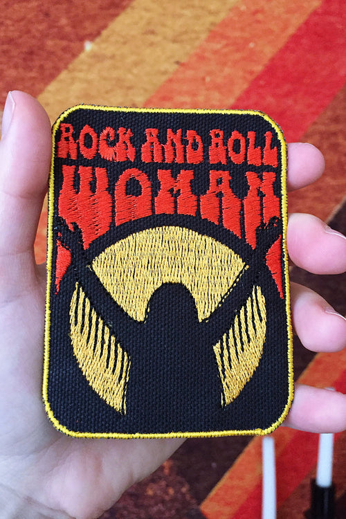 Rock and Roll Woman Patch