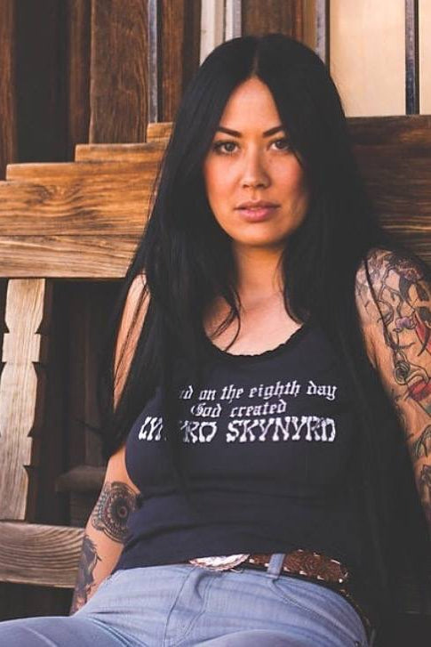 """And on the Eighth Day, God Created Lynyrd Skynyrd"" Tee"
