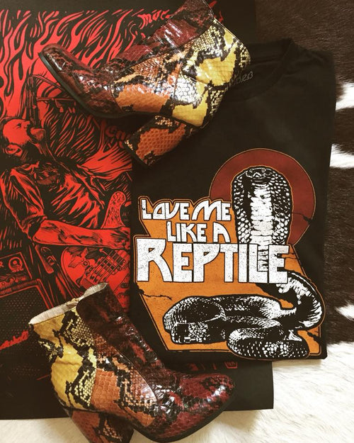 Love Me Like a Reptile Tee
