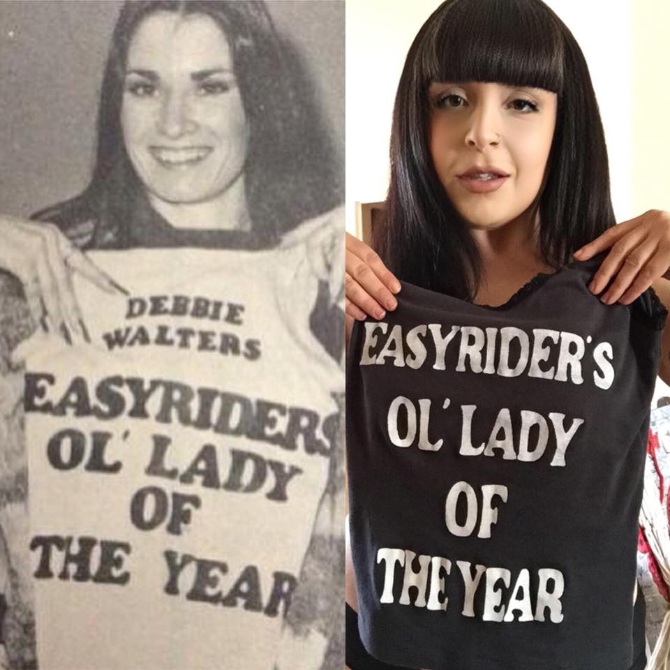 Easyriders Ol' Lady of the Year Vintage Lace Tank Top