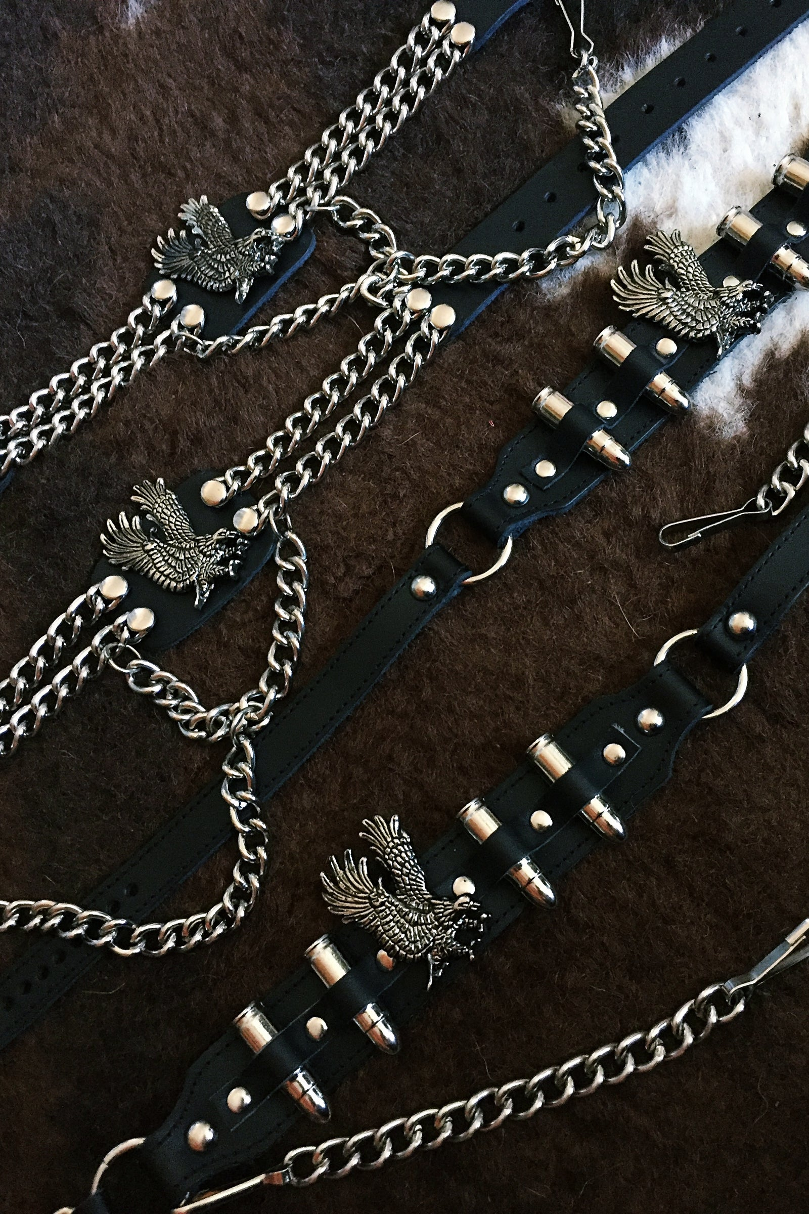 Eagles' Flight Boot Chains (Pre Order)