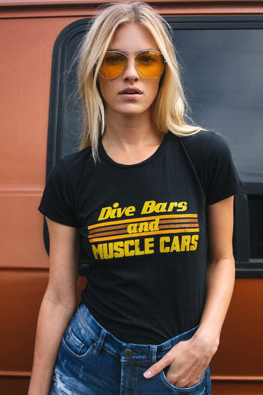Dive Bars and Muscle Cars Tee (Last One)