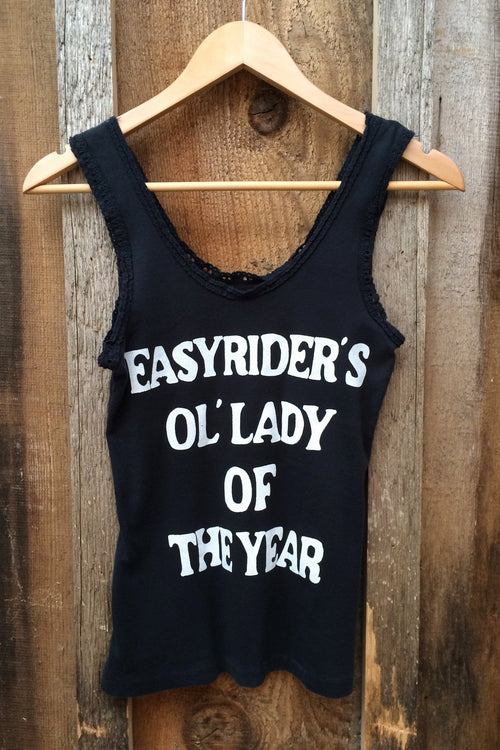 Easyriders Ol' Lady of the Year Vintage Lace Tank Top (Last One)