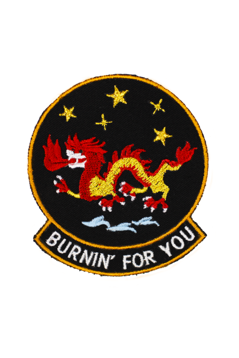 Burnin' For You Patch